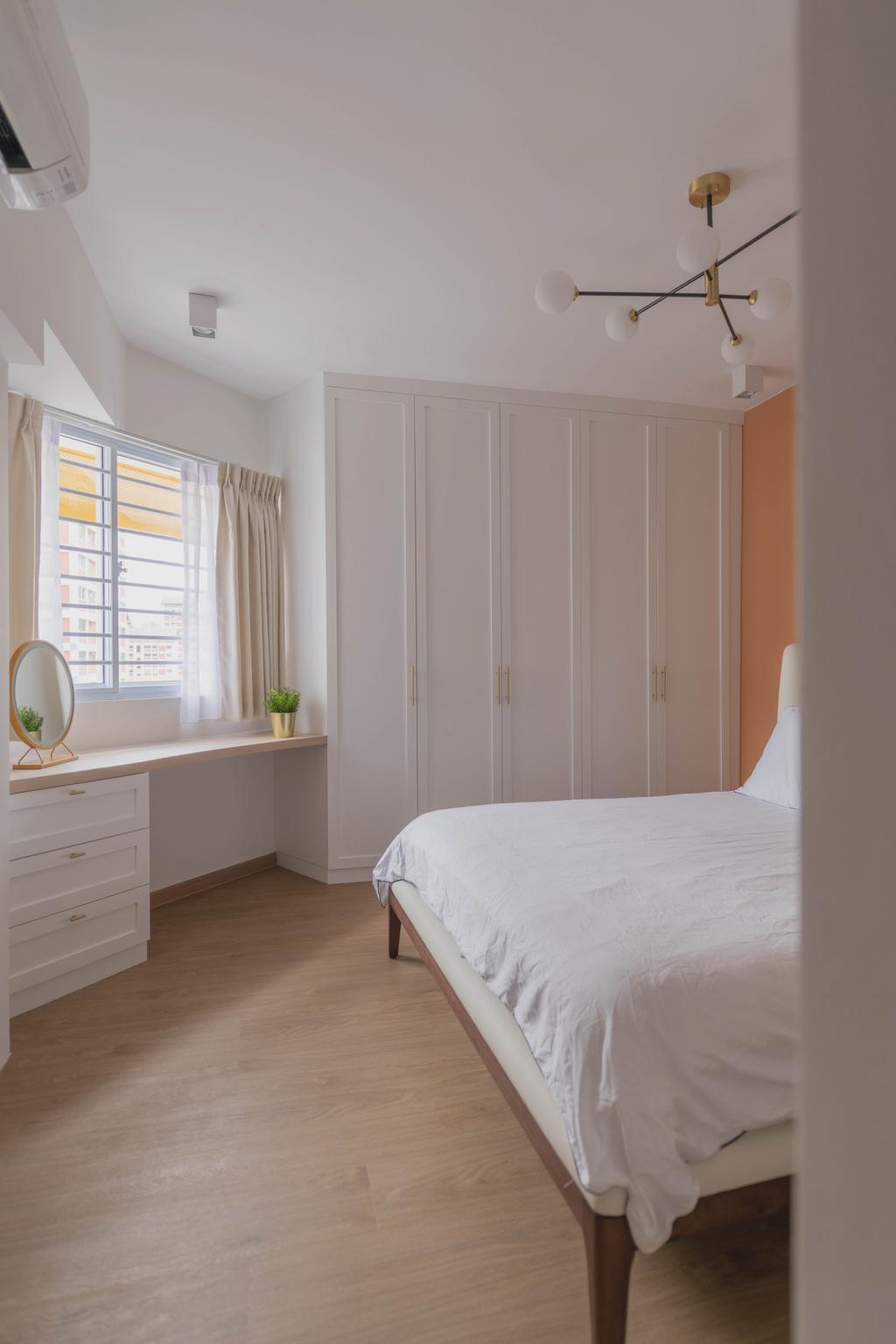 Scandinavian, HDB, Bedroom, Bishan Street 22, Interior Designer, Urban Home Design 二本設計家