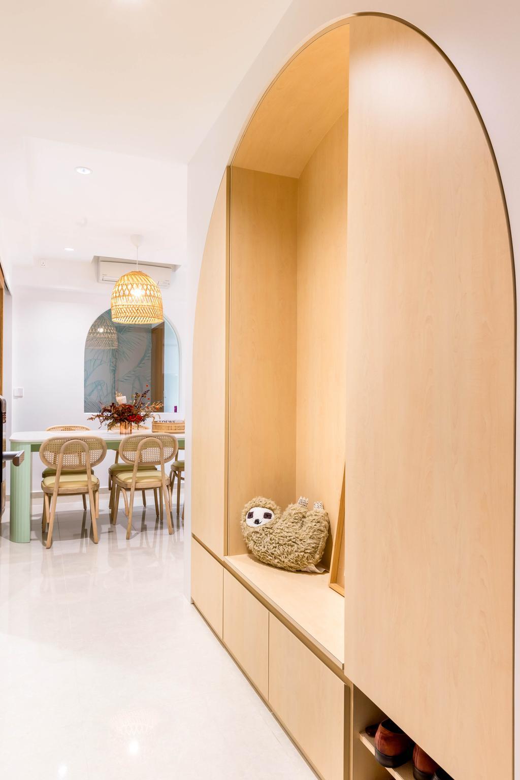 Scandinavian, Condo, Living Room, Rivercove Residences, Interior Designer, Ascend Design, Contemporary