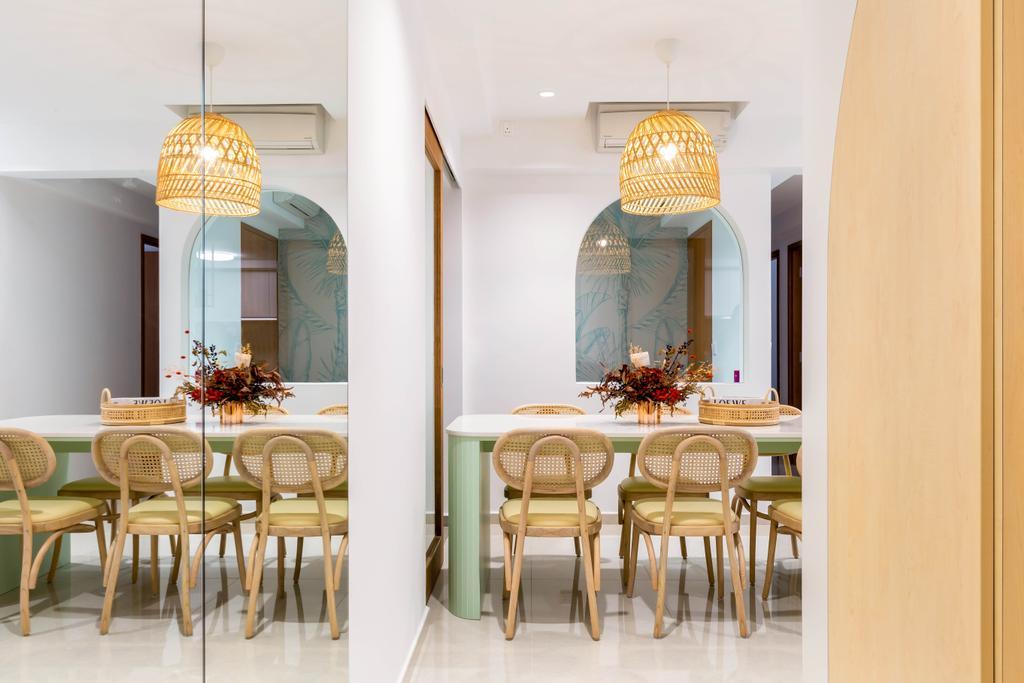 Scandinavian, Condo, Dining Room, Rivercove Residences, Interior Designer, Ascend Design, Contemporary