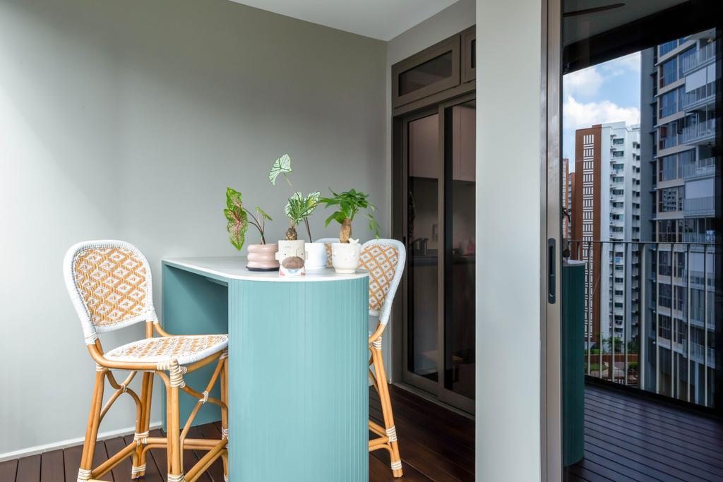 Scandinavian, Condo, Balcony, Rivercove Residences, Interior Designer, Ascend Design, Contemporary