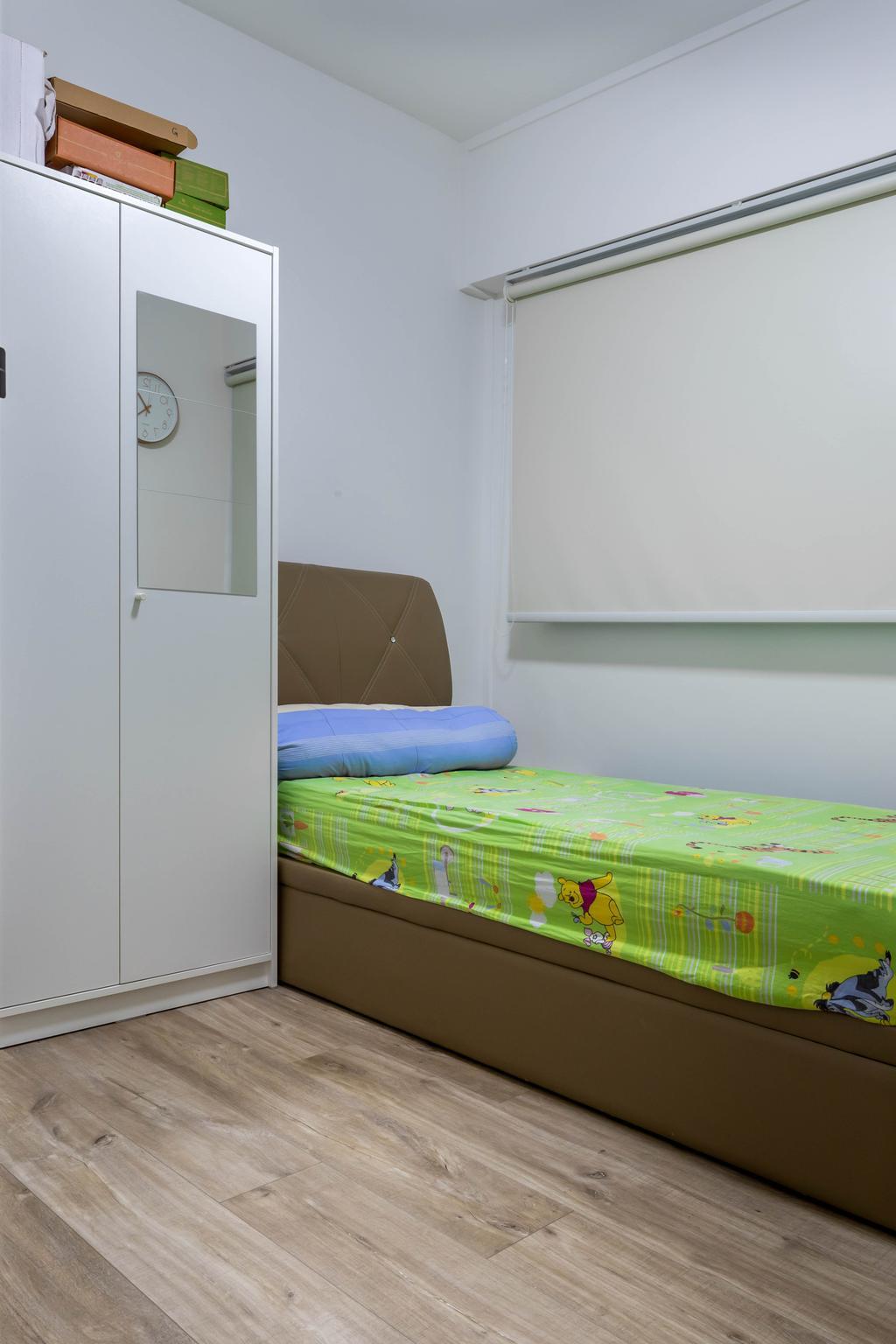 Modern, HDB, Bedroom, Queen's Close, Interior Designer, Sozo Concept Studio, Scandinavian