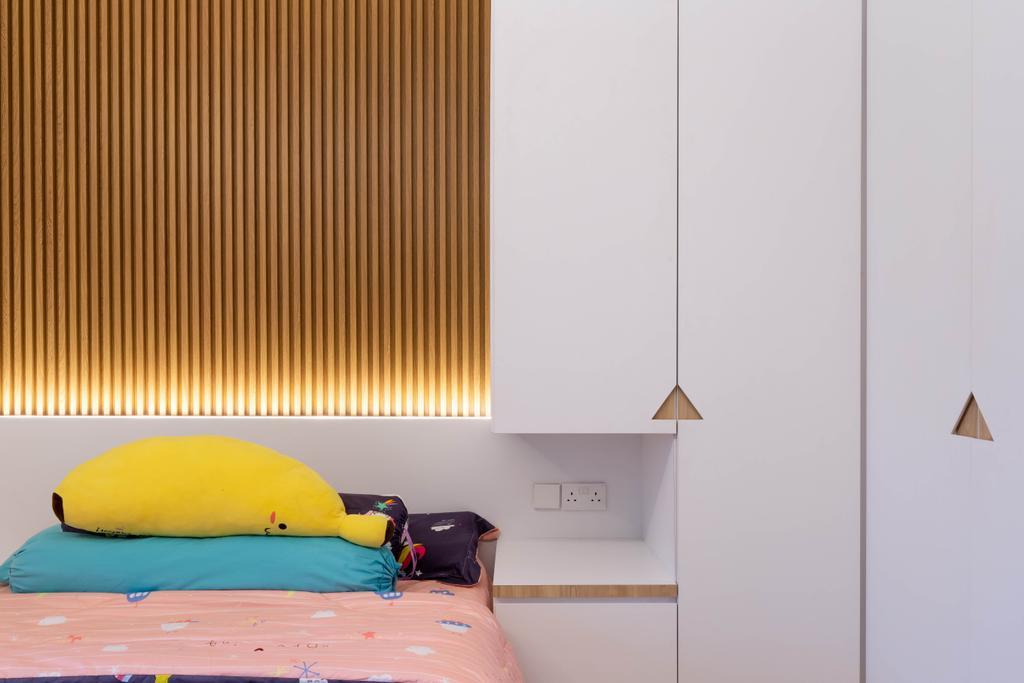 Modern, HDB, Bedroom, Jurong West Street 73, Interior Designer, 360 Interior, Contemporary