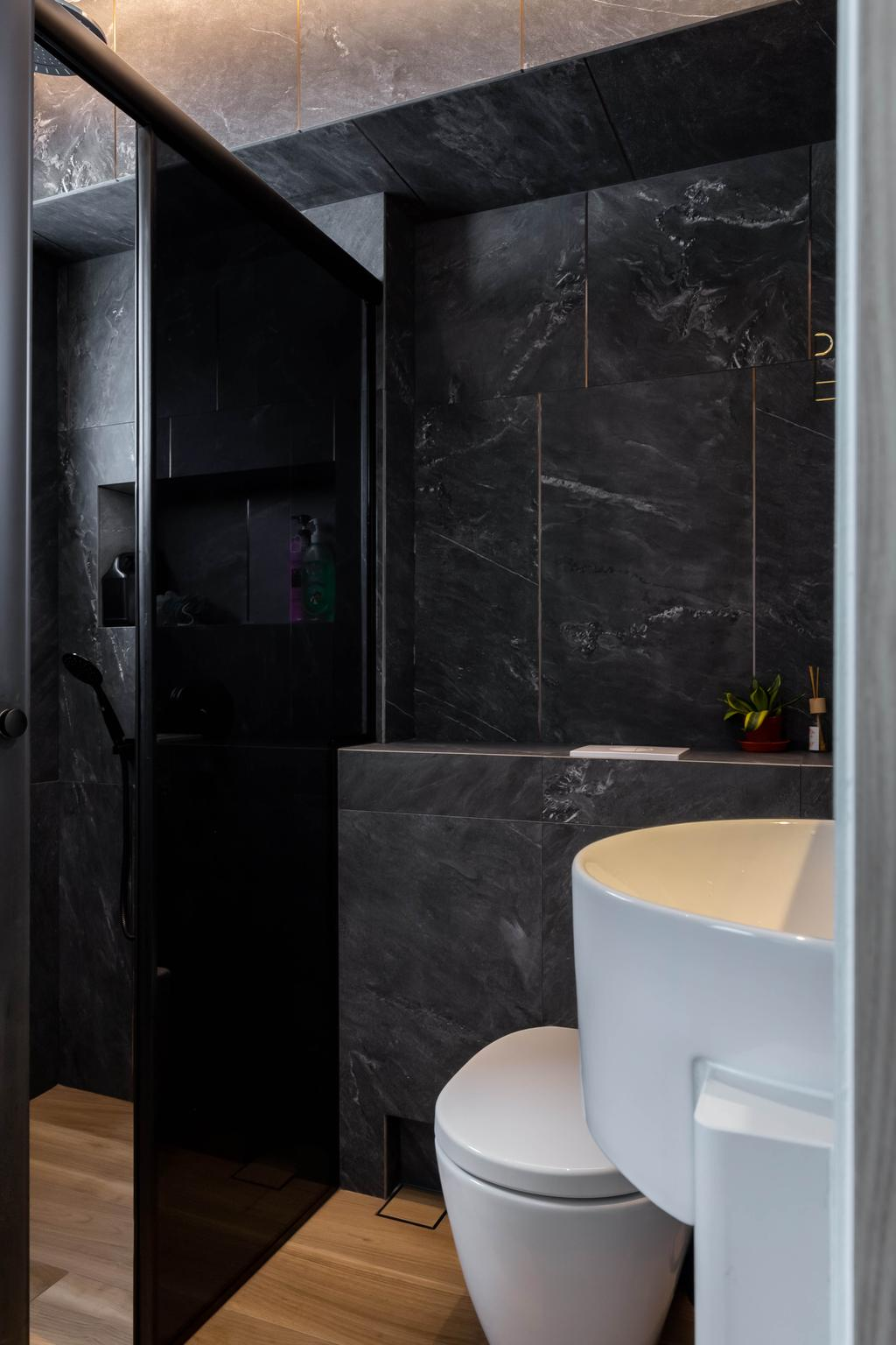 Modern, HDB, Bathroom, Jurong West Street 73, Interior Designer, 360 Interior, Contemporary