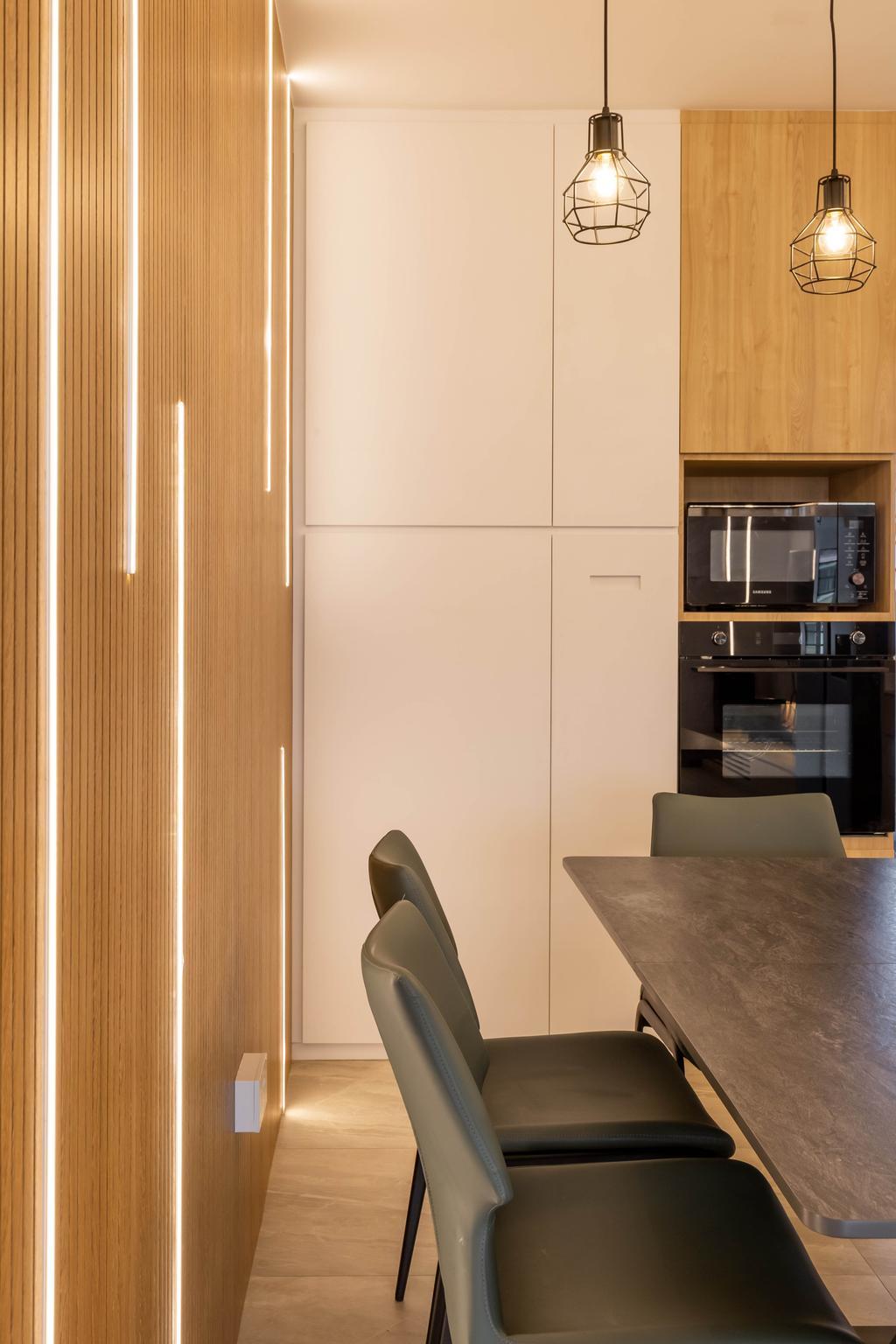Modern, HDB, Dining Room, Jurong West Street 73, Interior Designer, 360 Interior, Contemporary