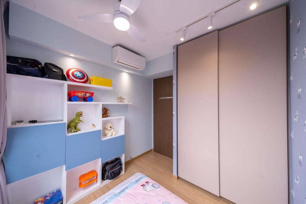 Modern, Condo, Bedroom, Le Quest, Interior Designer, Design 4 Space