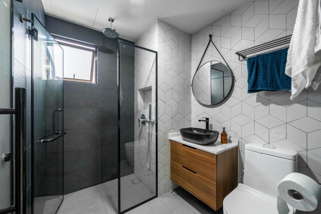 Modern, Condo, Bathroom, Grande Vista, Interior Designer, Design 4 Space, Contemporary
