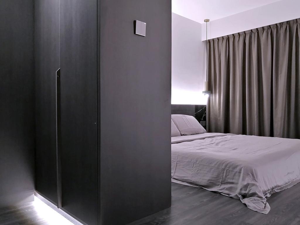 Contemporary, HDB, Bedroom, Woodlands Street 13, Interior Designer, Hansel Studio