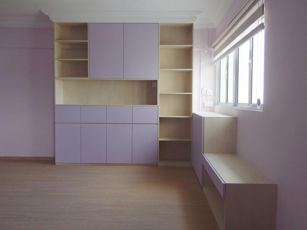 Modern, HDB, Bedroom, Telok Blangah Heights, Interior Designer, Hansel Studio