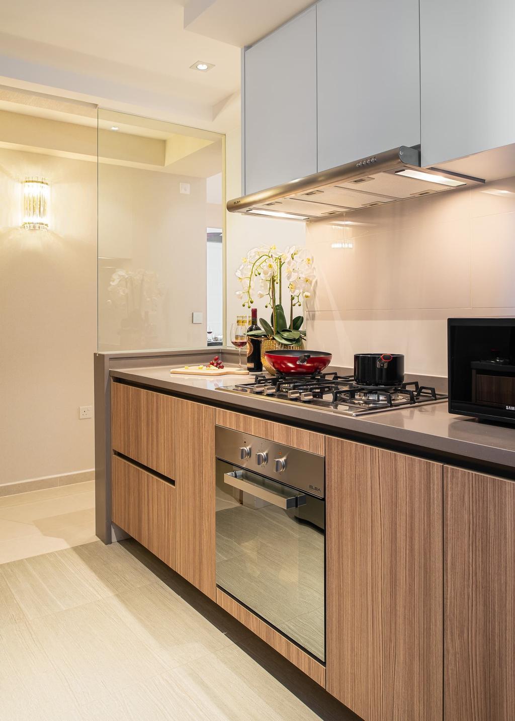 Contemporary, Condo, Kitchen, Rivercove Residences, Interior Designer, Mr Shopper Studio