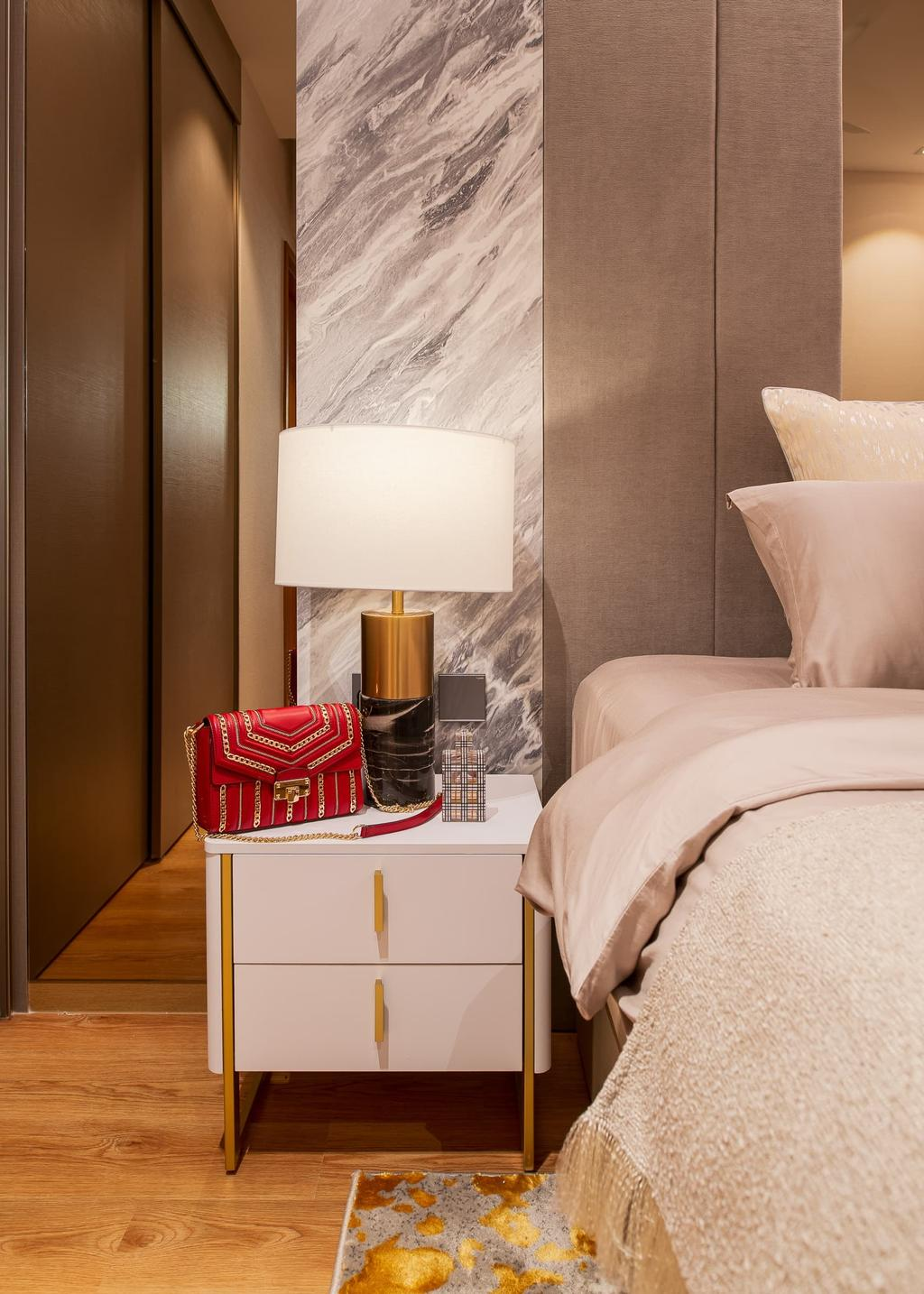 Contemporary, Condo, Bedroom, Rivercove Residences, Interior Designer, Mr Shopper Studio