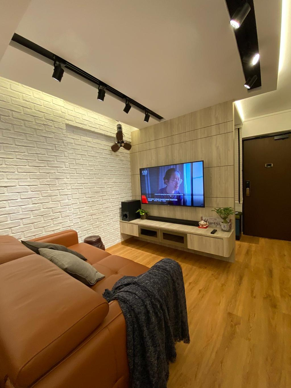 Contemporary, HDB, Living Room, Telok Blangah Crescent, Interior Designer, The Wooden Platform