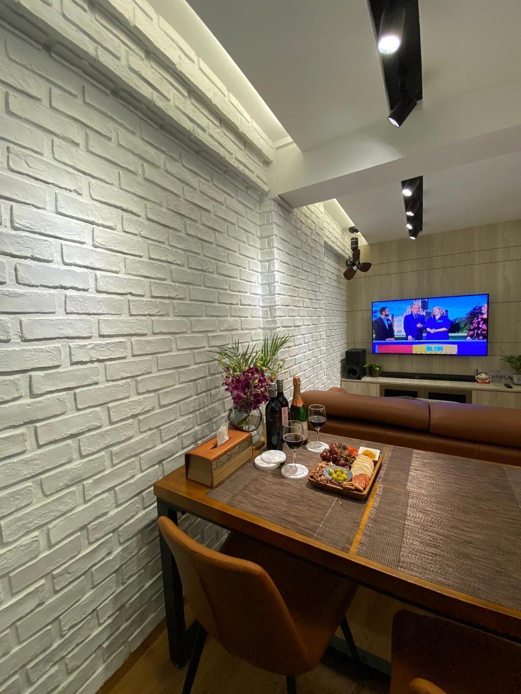 Contemporary, HDB, Dining Room, Telok Blangah Crescent, Interior Designer, The Wooden Platform