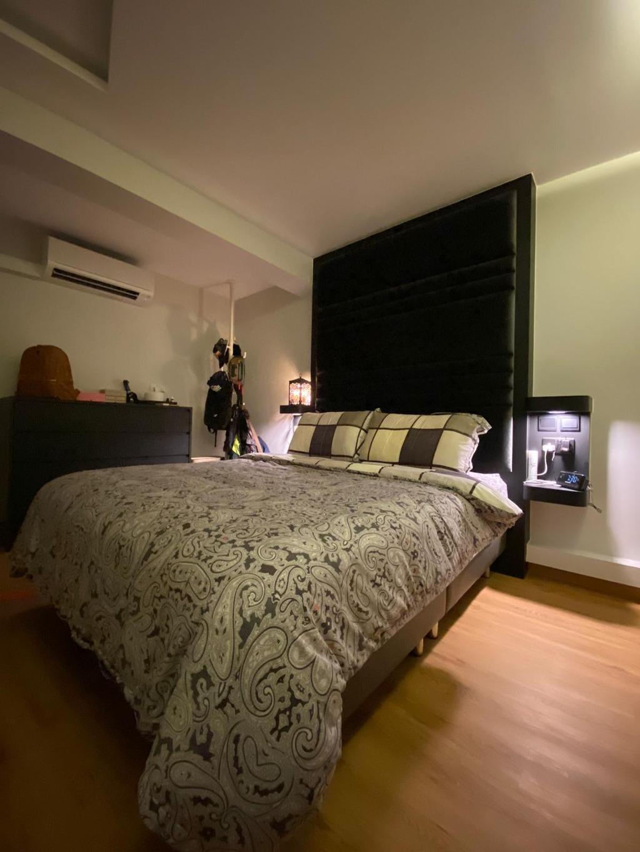 Contemporary, HDB, Bedroom, Telok Blangah Crescent, Interior Designer, The Wooden Platform