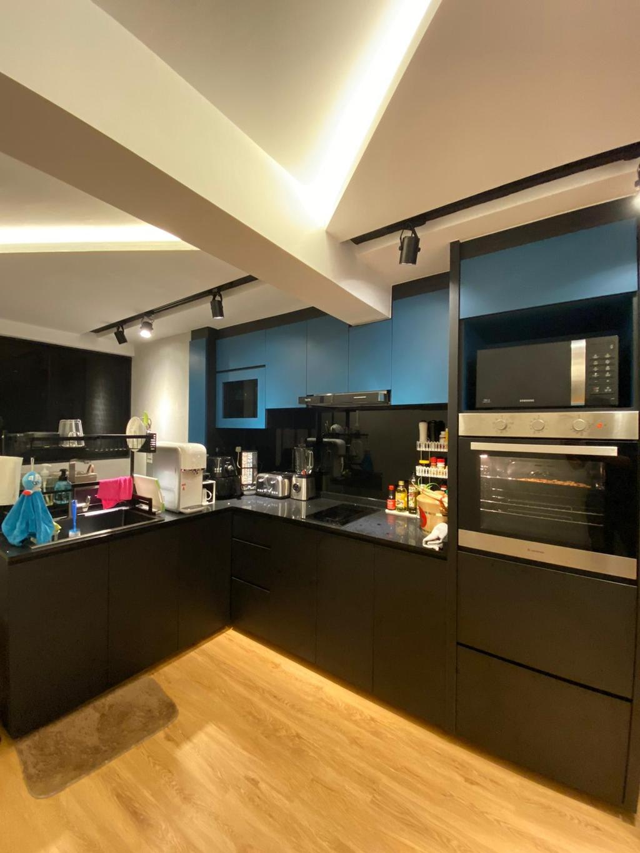 Contemporary, HDB, Kitchen, Telok Blangah Crescent, Interior Designer, The Wooden Platform