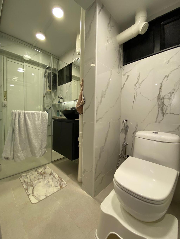 Contemporary, HDB, Bathroom, Telok Blangah Crescent, Interior Designer, The Wooden Platform