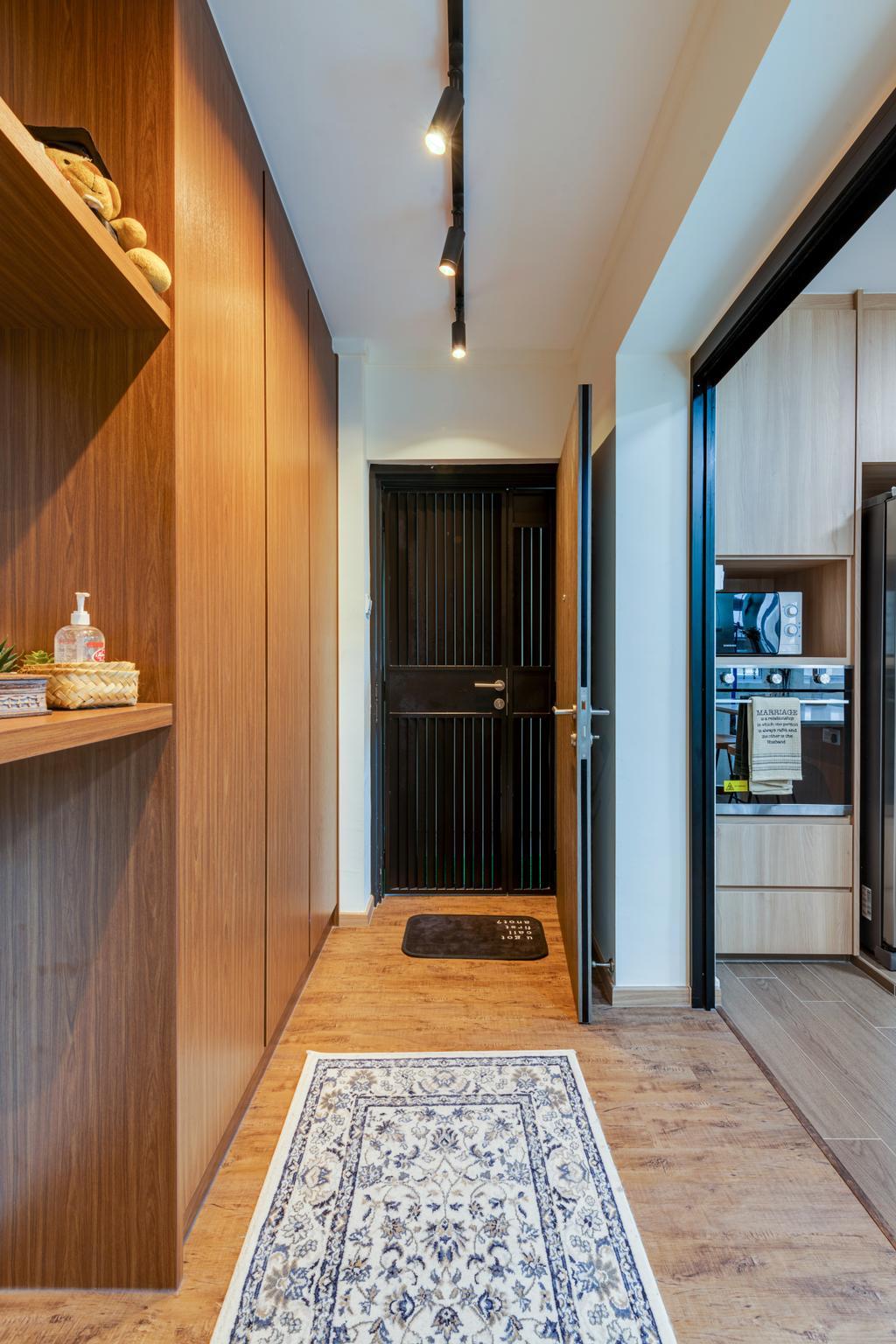 Scandinavian, HDB, Living Room, Woodlands Street 81, Interior Designer, Vika Design Lab, Industrial