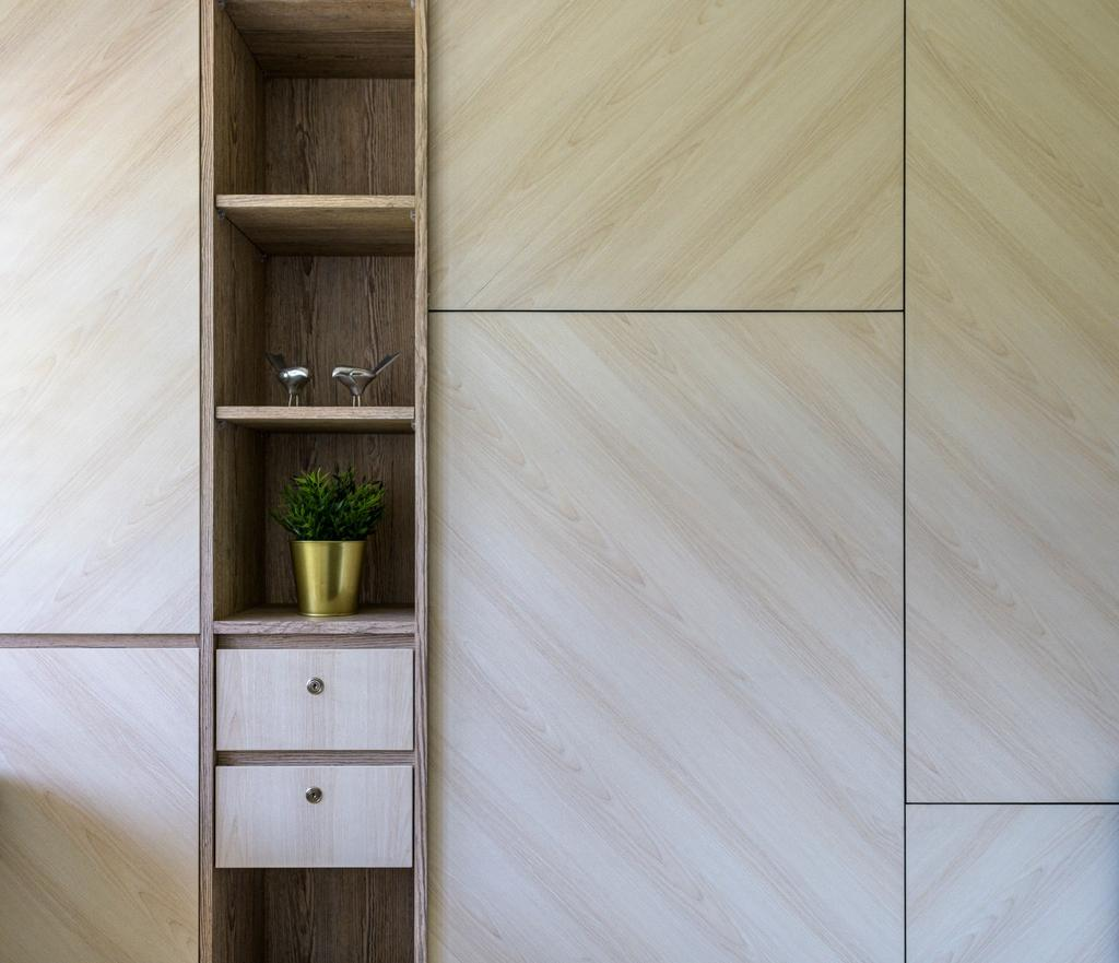 Modern, HDB, Bedroom, Sengkang West Road, Interior Designer, Vika Design Lab