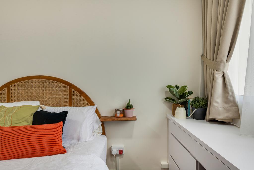 Scandinavian, HDB, Bedroom, Woodlands Street 81, Interior Designer, Vika Design Lab, Industrial