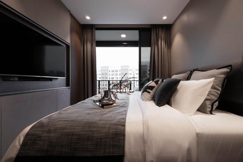 Modern, Condo, Bedroom, Le Quest, Interior Designer, Mr Shopper Studio, Contemporary