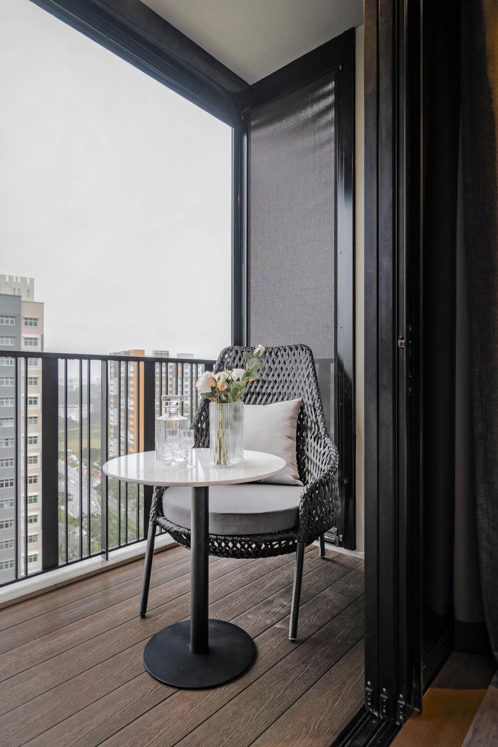 Modern, Condo, Balcony, Le Quest, Interior Designer, Mr Shopper Studio, Contemporary