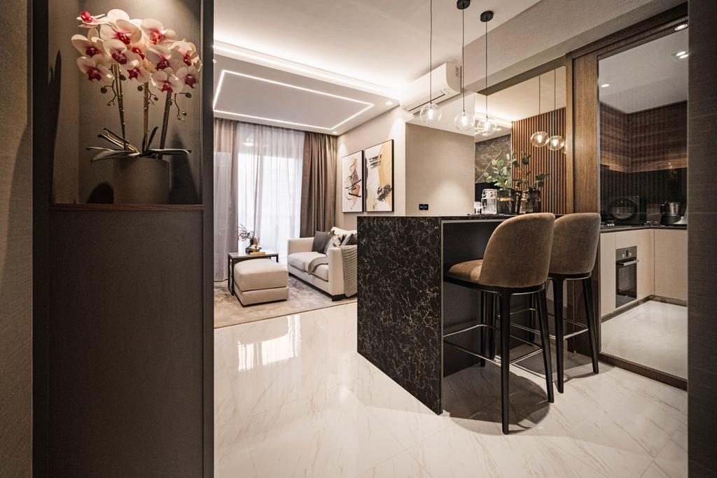Modern, Condo, Dining Room, Le Quest, Interior Designer, Mr Shopper Studio, Contemporary