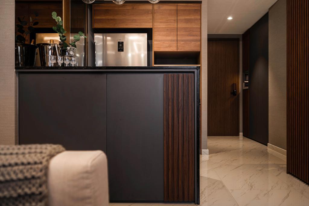 Modern, Condo, Living Room, Le Quest, Interior Designer, Mr Shopper Studio, Contemporary