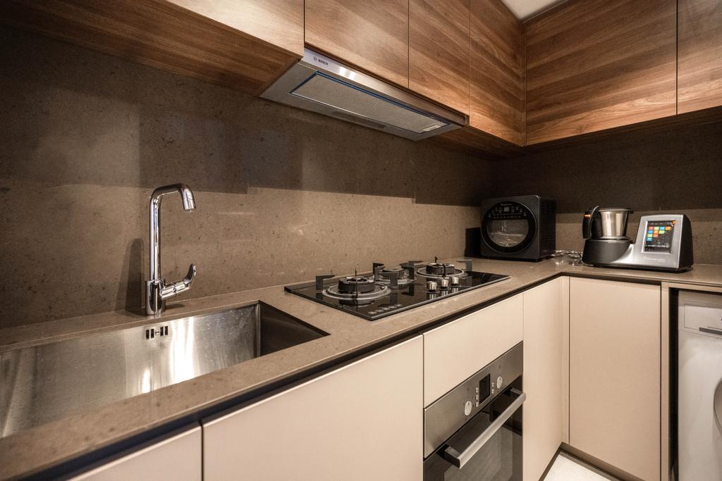 Modern, Condo, Kitchen, Le Quest, Interior Designer, Mr Shopper Studio, Contemporary