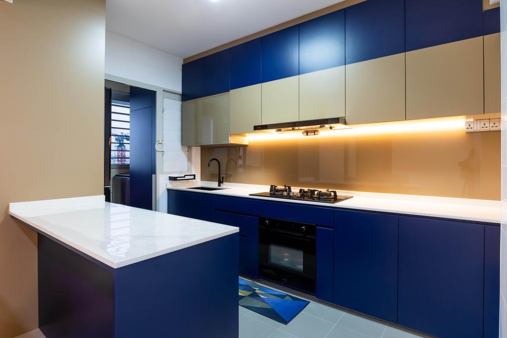 Modern, HDB, Kitchen, Sumang Walk, Interior Designer, Des & Co Interior