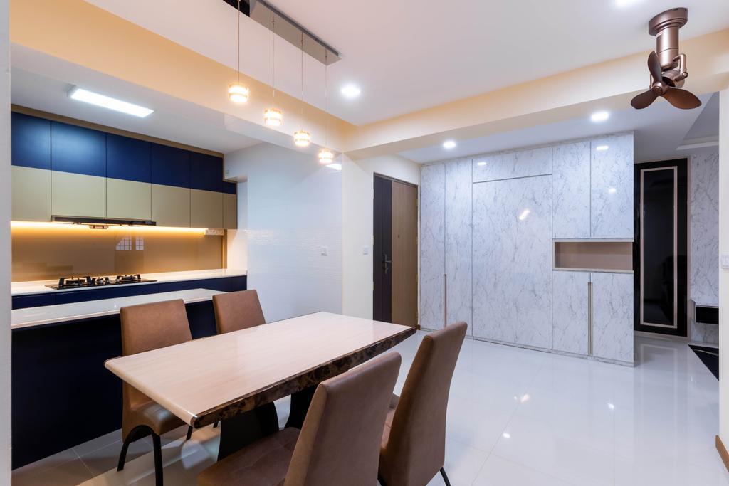 Modern, HDB, Dining Room, Sumang Walk, Interior Designer, Des & Co Interior
