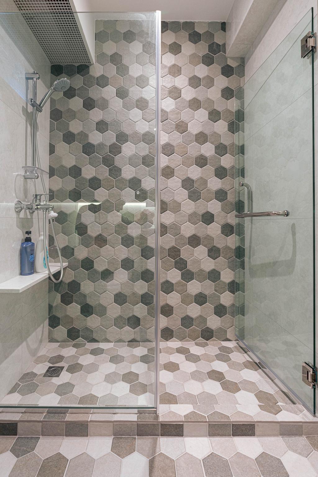 Contemporary, HDB, Bathroom, Upper Serangoon, Interior Designer, Artmuse Interior, Scandinavian