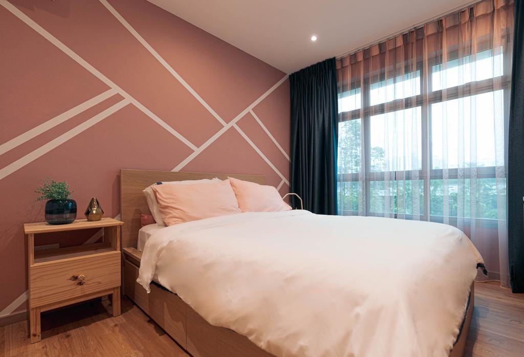 Contemporary, HDB, Bedroom, Upper Serangoon, Interior Designer, Artmuse Interior, Scandinavian