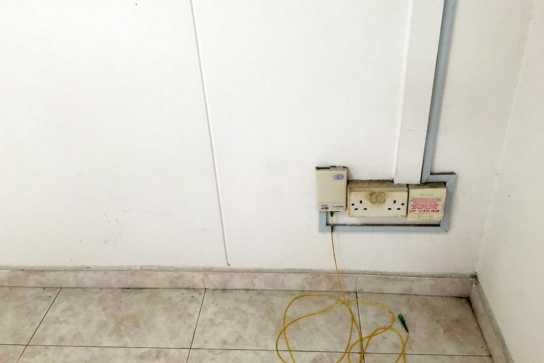 ways to hide HDB flat eyesores wires pipes