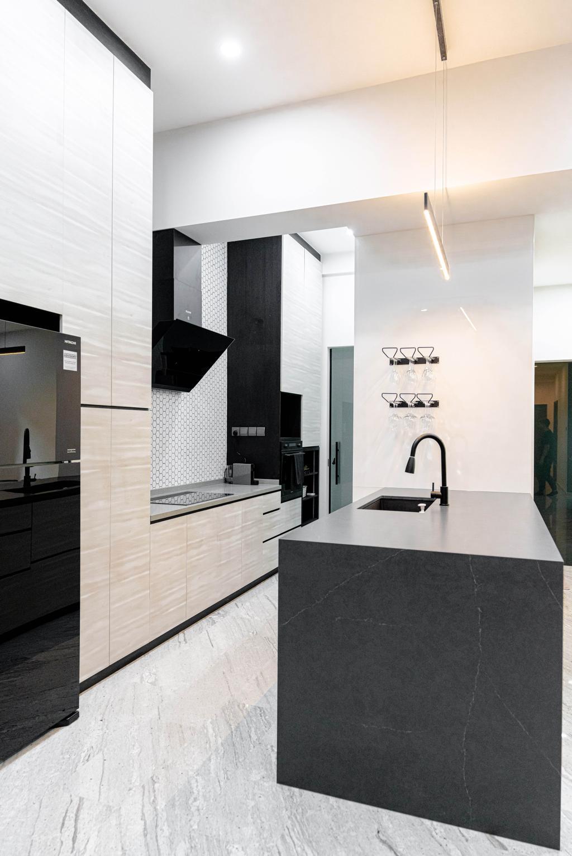 Contemporary, Condo, Kitchen, Fifth Avenue, Interior Designer, Le Interior Affairs