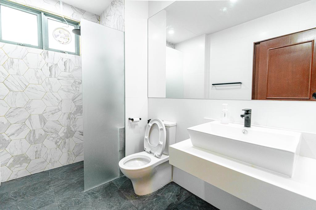 Contemporary, Condo, Bathroom, Fifth Avenue, Interior Designer, Le Interior Affairs