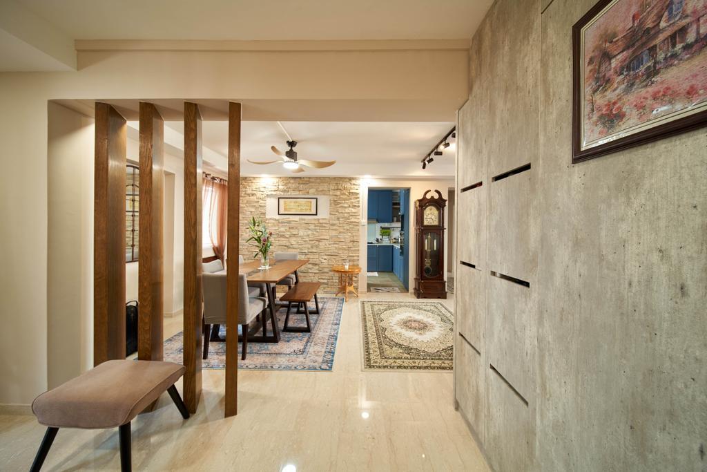 Modern, HDB, Living Room, Tampines Avenue 7, Interior Designer, Le Interior Affairs, Contemporary