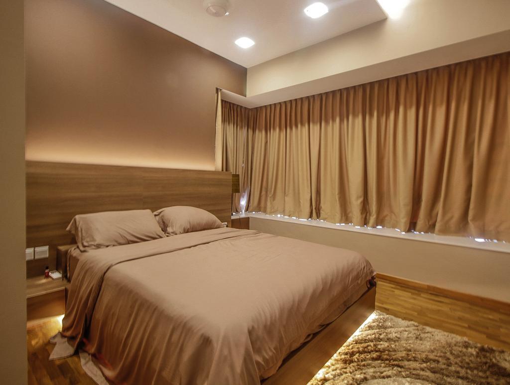 Modern, Condo, Bedroom, The Quintet, Interior Designer, Le Interior Affairs
