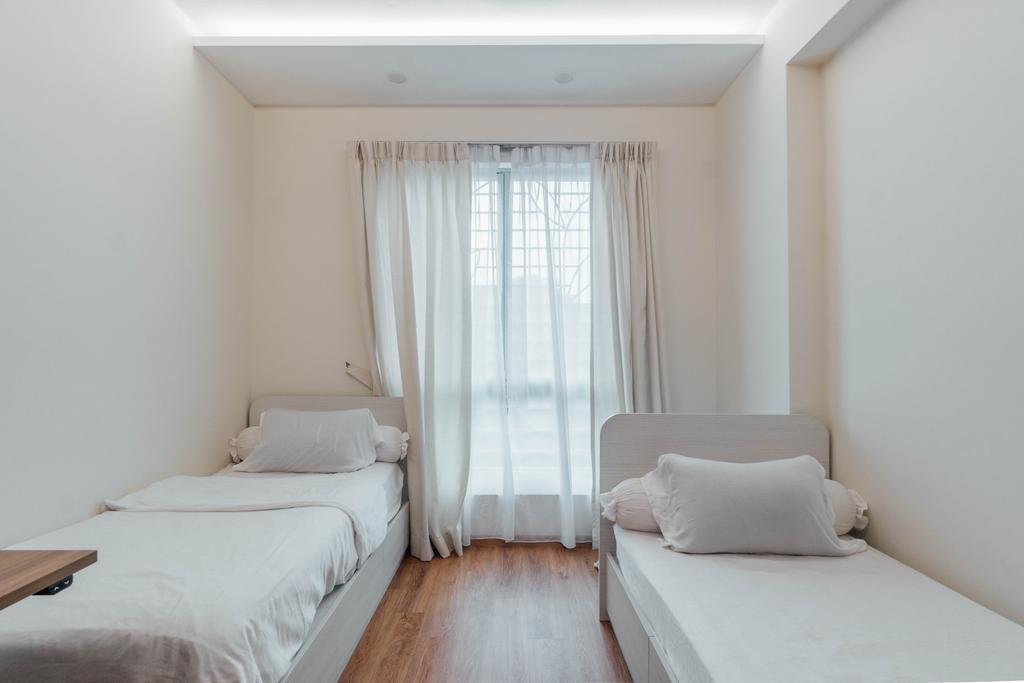 Scandinavian, Condo, Bedroom, Guilin View, Interior Designer, Le Interior Affairs
