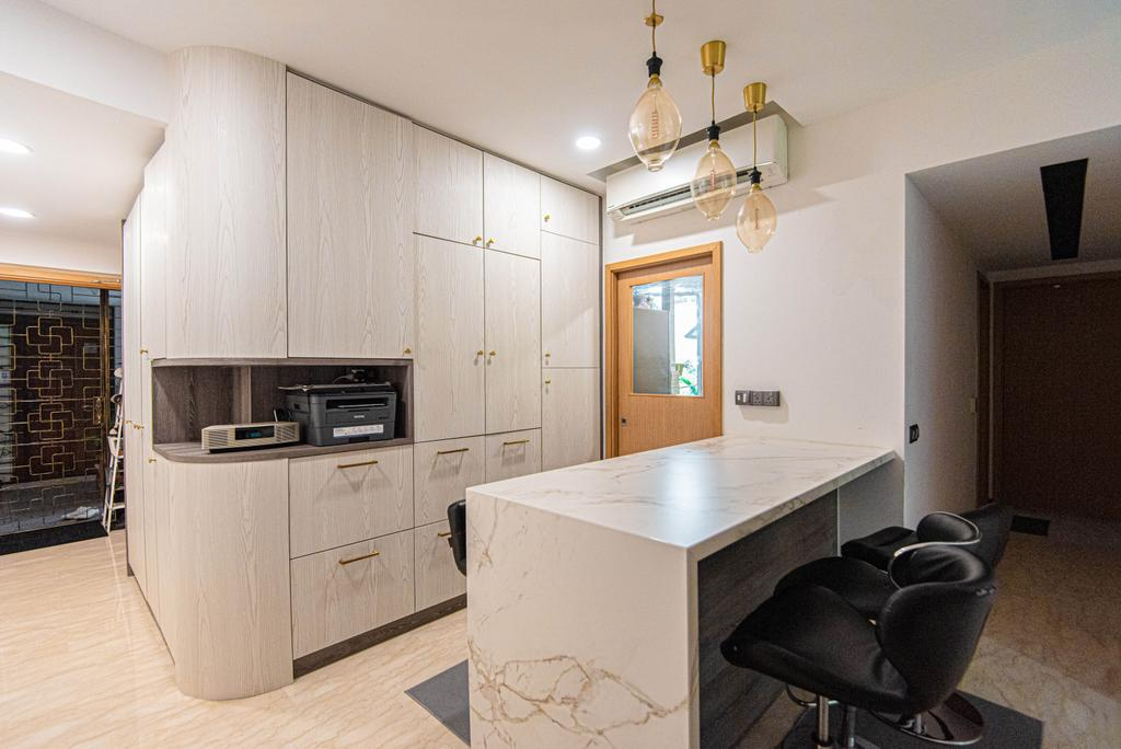 Modern, HDB, Living Room, The Pearl @ Mount Faber, Interior Designer, Le Interior Affairs, Contemporary