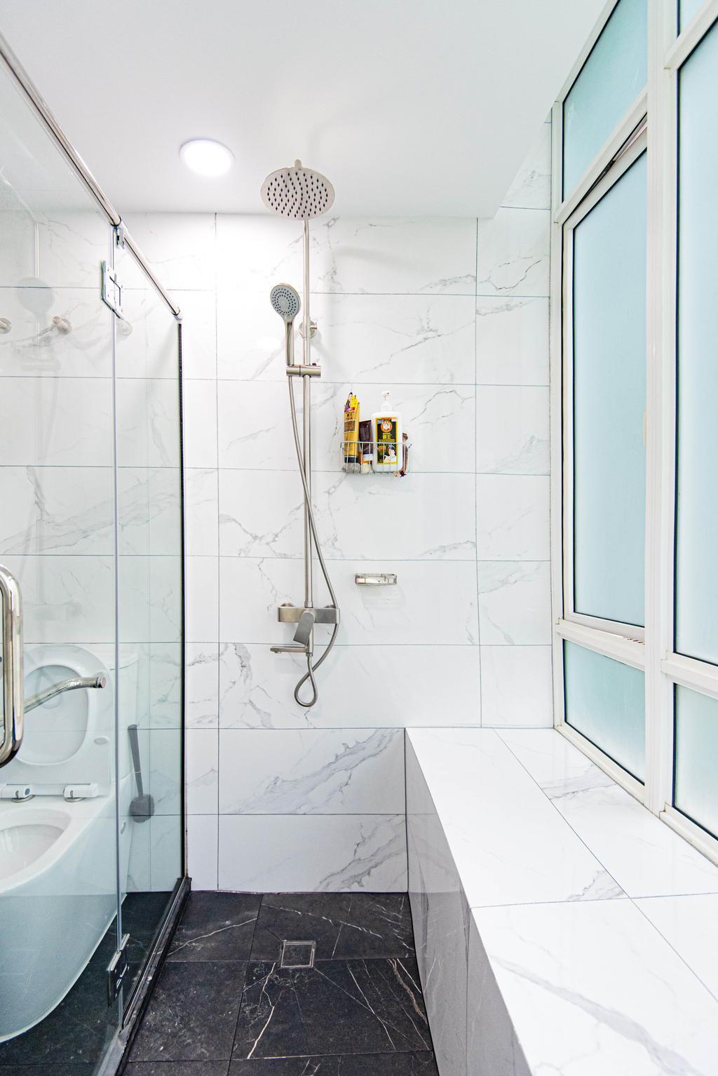 Modern, HDB, Bathroom, The Pearl @ Mount Faber, Interior Designer, Le Interior Affairs, Contemporary