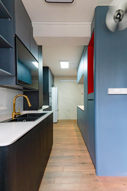 Modern, HDB, Kitchen, Jurong West Street 92, Interior Designer, Le Interior Affairs, Contemporary