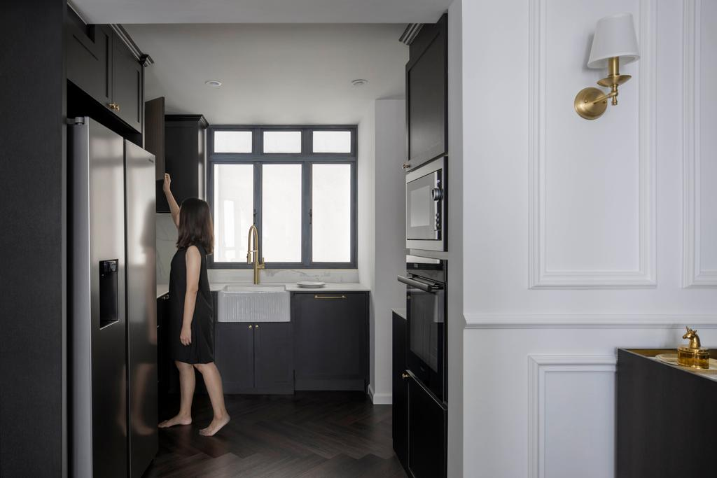 Contemporary, Condo, Kitchen, Regentville, Interior Designer, Fifth Avenue Interior