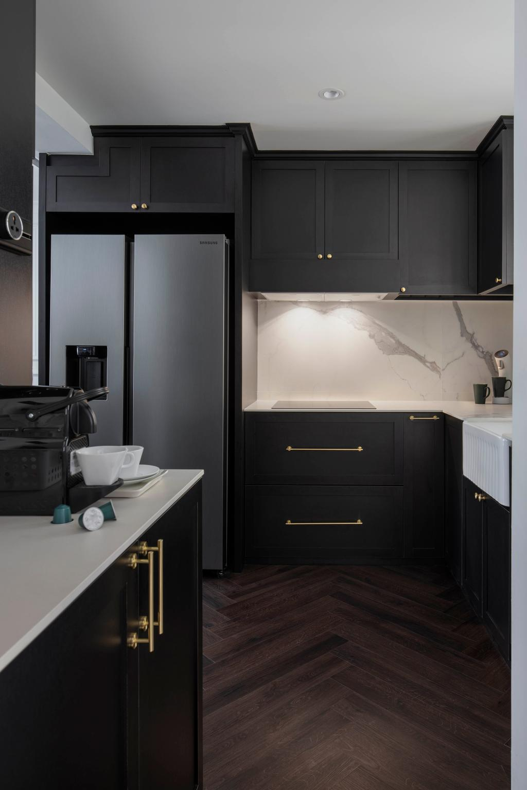 Contemporary, Condo, Kitchen, Regentville, Interior Designer, Fifth Avenue Interior