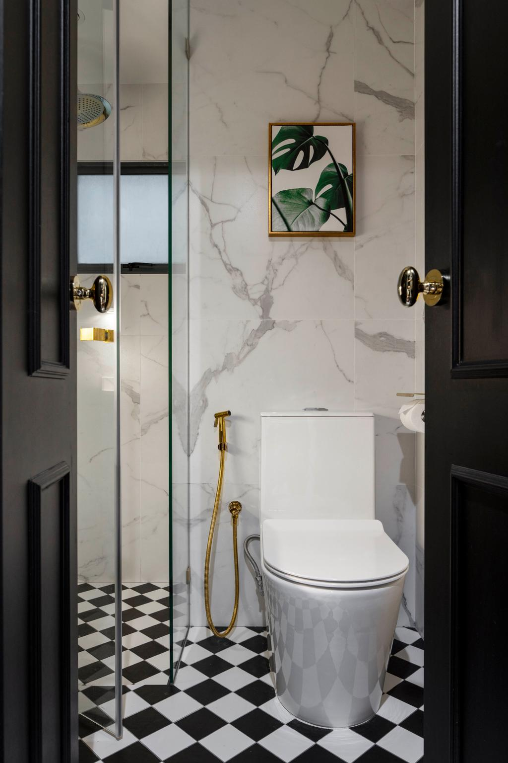 Contemporary, Condo, Bathroom, Regentville, Interior Designer, Fifth Avenue Interior