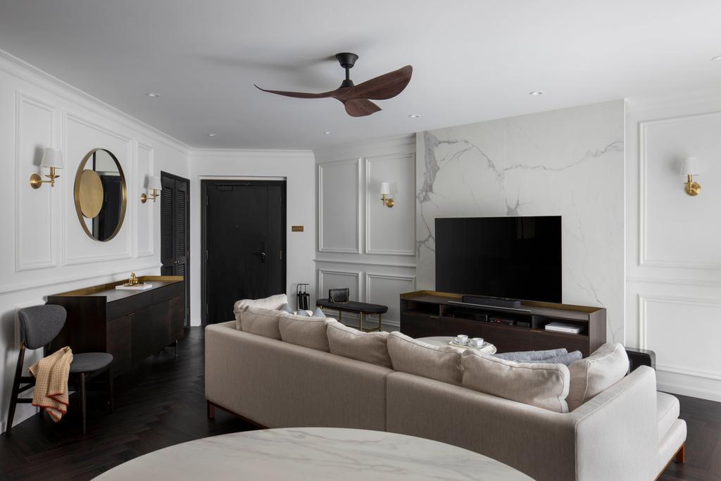 Contemporary, Condo, Living Room, Regentville, Interior Designer, Fifth Avenue Interior