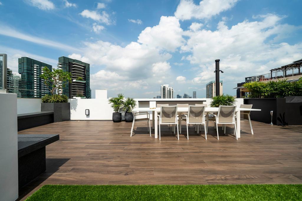Modern, Condo, Balcony, Yong An Park, Interior Designer, Livspace, Contemporary