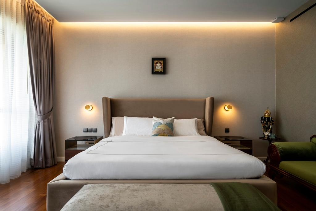 Modern, Condo, Bedroom, Yong An Park, Interior Designer, Livspace, Contemporary