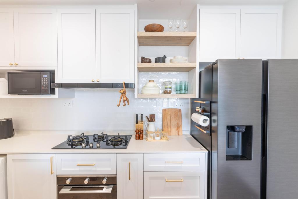 Modern, Condo, Kitchen, The Crest, Interior Designer, Livspace, Scandinavian