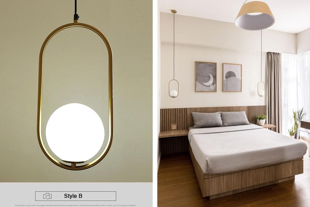 Glass Ball Pendant Light Shopee Qanvast Picks
