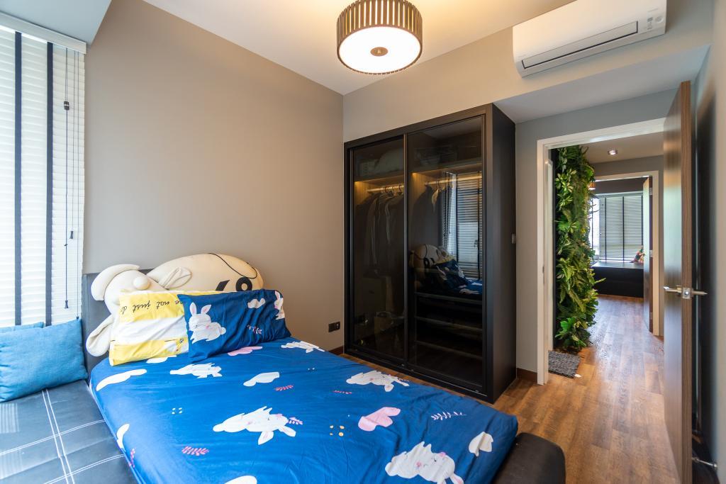 Contemporary, Condo, Bedroom, Fontaine Parry, Interior Designer, Absolook Interior Design