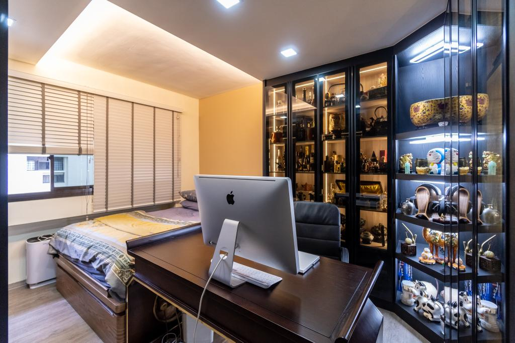 Transitional, HDB, Study, Woodlands Ring Road, Interior Designer, Absolook Interior Design